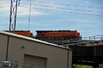 BNSF 7231 takes the high-line over kc bnsf trans con.